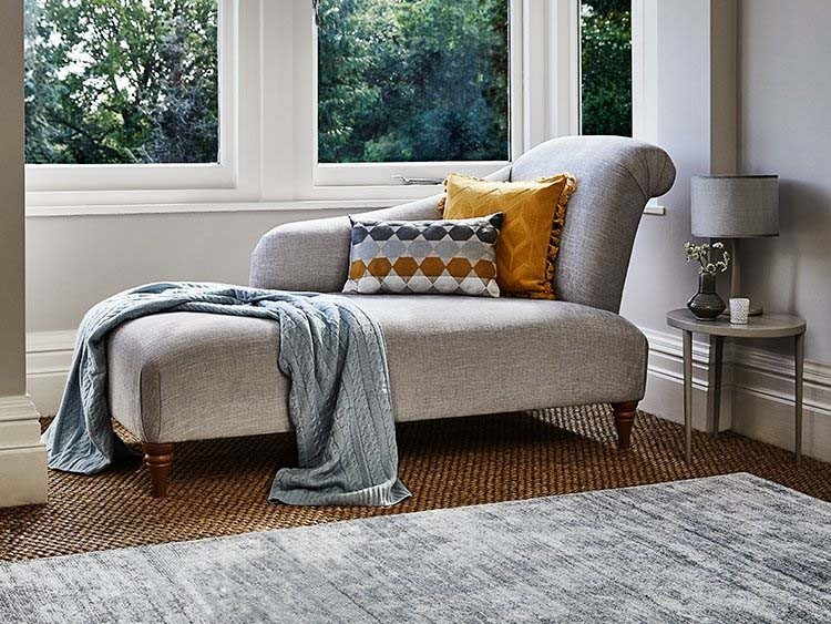 This is how I look in Cotton Tawny as a right side chaise longue