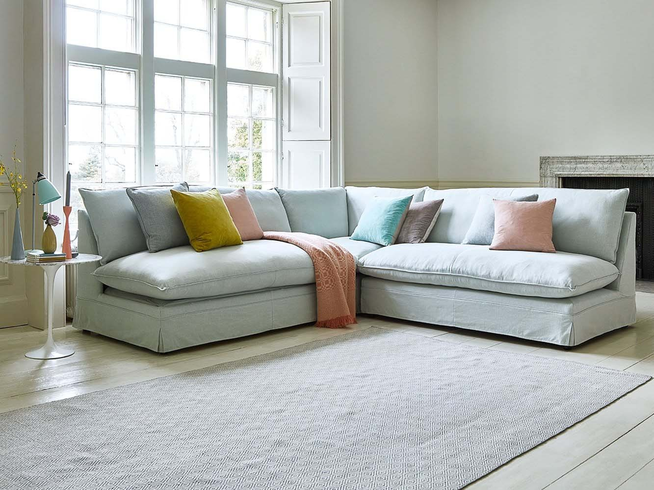 the deverill 7 seater modular sofa