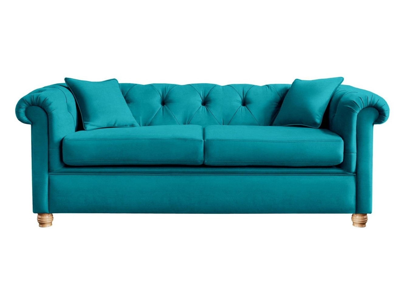 This is how I look in Cotton Velvet Aegean in reflex foam seat cushions