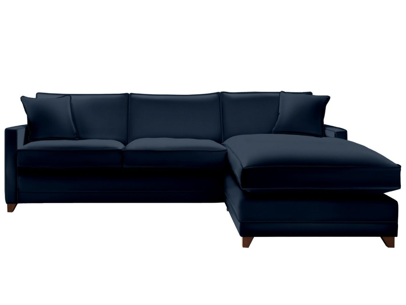 This is how I look in House Velvet Sapphire with siliconized hollow fibre seat cushions