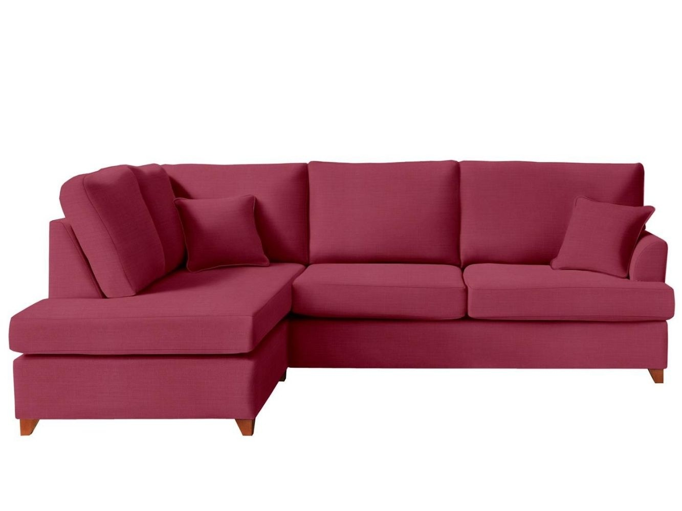 This is how I look in Brushed Cotton Cherry with reflex foam seat cushions