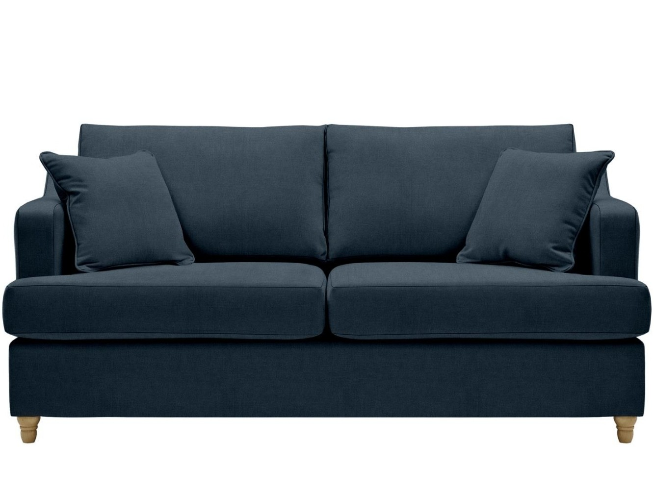 This is how I look in Washed Cotton Cambridge Blue (discontinued fabric) with reflex foam seat cushions