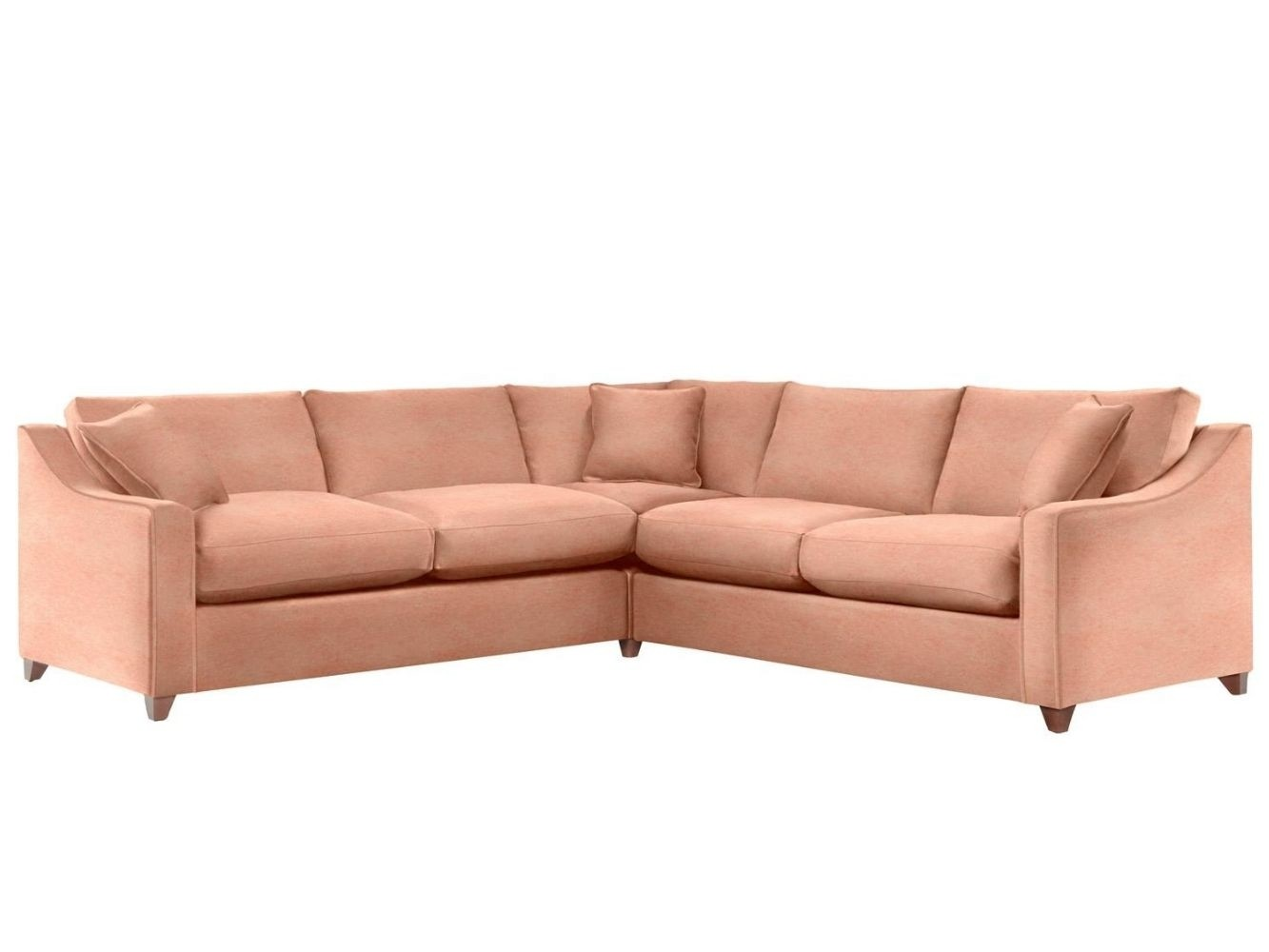 This is how I look in Stain Resistant Vintage Velvet Bloom (Discontinued Fabric) with feather-wrapped foam seat cushions