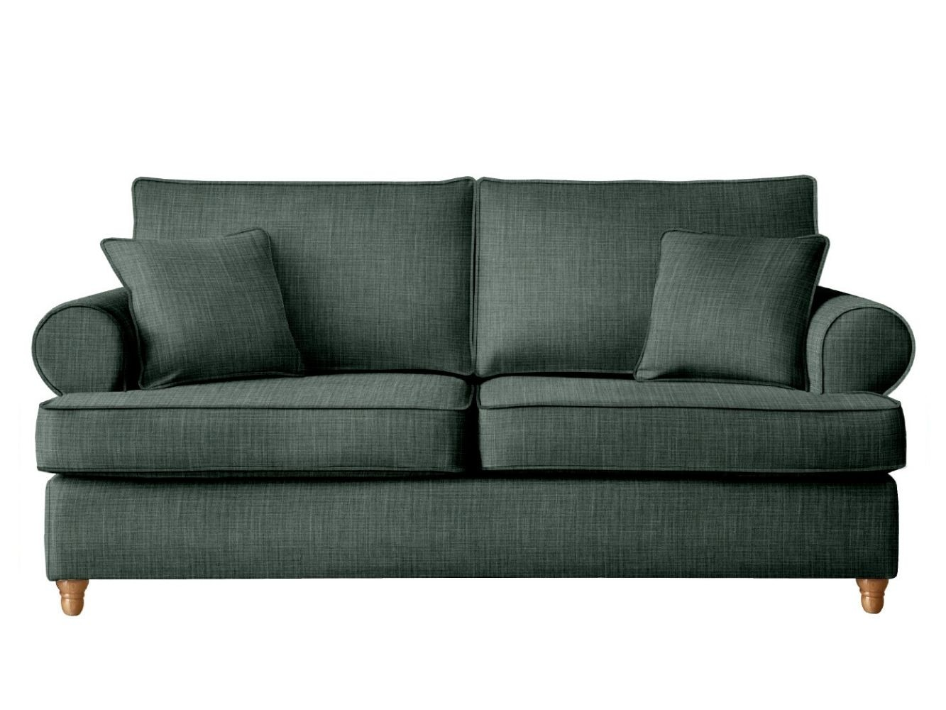 This is how I look in House Linen Steel Grey with reflex foam seat cushions