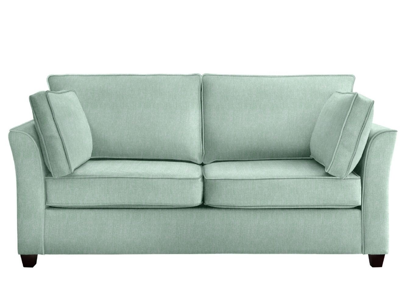 This is how I look in Stain Resistant Broad Weave Linen Wolf Grey with reflex foam seat cushions