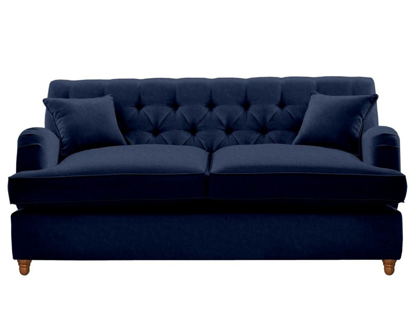 This is how I look in Cotton Velvet Admiral with siliconized hollow fibre seat cushions