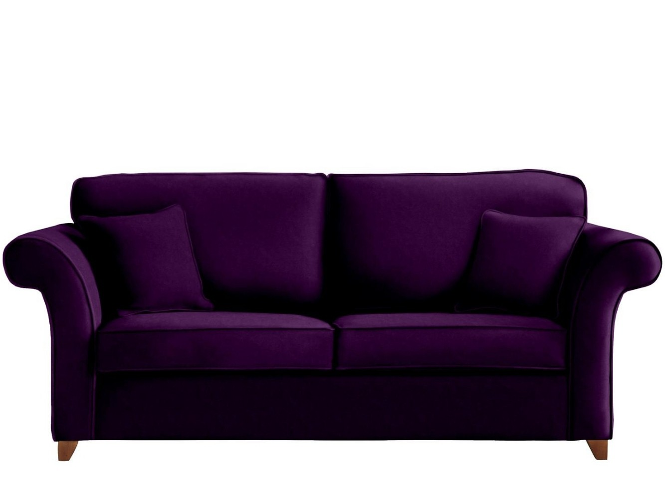 This is how I look in Cotton Velvet Grape with reflex foam seat cushions
