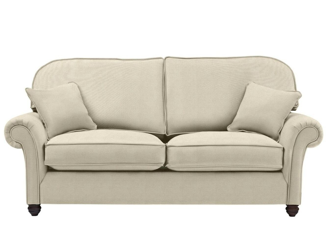 This is how I look in Classic Linen Canvas with siliconized hollow fibre seat cushions